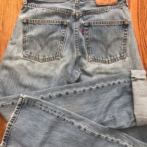 Levi vintage jeans *have multiple pairs in closet*